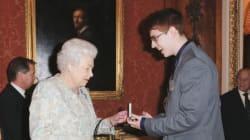 The Queen Honours Alberta Teen For Saving Stepdad's