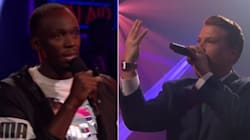 Le rap sans pitié d'Usain Bolt face à James