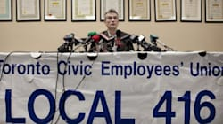 Toronto Outside Workers Strike