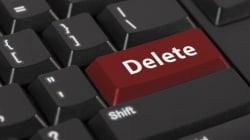 Basta un pulsante per sparire dal web. Ecco come funziona