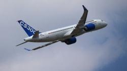 Bombardier livre son premier avion