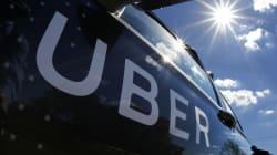 Uber: le permis a été octroyé dans le