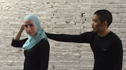 Woman's 'Hijab Grab' Self-Defence Video Is
