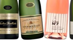 16 champagnes et vins mousseux pour