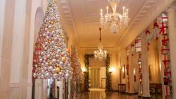 Les décorations de Noël de la famille