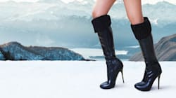 How To Wear Heels In The Winter (And Not Fall On Your