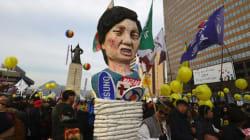 Manifestation massive contre la présidente en Corée du