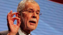 Présidentielle autrichienne: Van der Bellen en tête, le FPÖ reconnaît sa