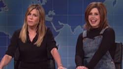 Jennifer Aniston Makes Surprise Appearance On
