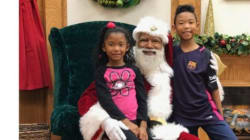 Leave It To Kids To Prove Why A Black Santa
