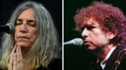 Patti Smith representará Bob Dylan na cerimônia do