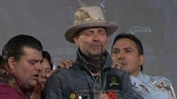 Gord Downie Weeps After Given Spirit Name 'Man Who Walks Among The