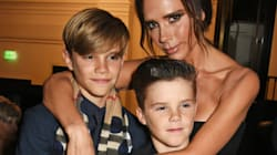 Victoria Beckham's Son Follows In Her Spice Girls