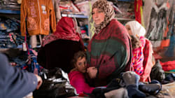 Preparing For Winter In Jordan's Za'atari Refugee