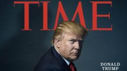 トランプ氏、タイム誌「今年の人」に 「大変な名誉だ。しかし......」