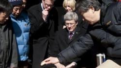 Harper en Chine pour vendre le
