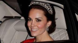 Kate Middleton Stuns In Princess Diana's Favourite