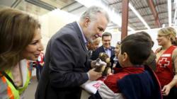 Premier anniversaire de l'arrivée des premiers réfugiés syriens au