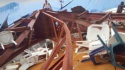Au moins 60 morts dans l'effondrement du toit d'une église au