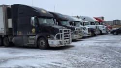 Camionneurs: la délinquance pour conserver son