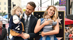 Surprise! First Photos Of Ryan Reynolds' Kids Are