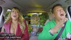 Mariah Carey's Christmas Carpool Karaoke Is What We All