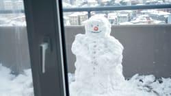 La vague de froid frappe au Québec... et