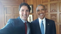 Obama Cracks The Same Dad Joke Every Time Trudeau Comes For