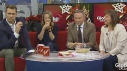 Watch: Reporter Serves Co-Hosts Artichoke Dip That