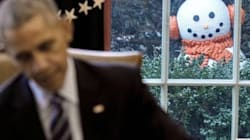 Creepy White House Snowman Has People Genuinely Scared For