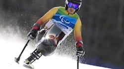 Paralympic Skier Makes