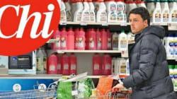 Renzi, un carrello della spesa non ti riporta in mezzo alla