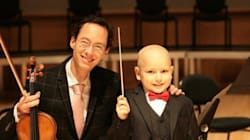 Boy Fighting Cancer Becomes Youngest Conductor In Edmonton