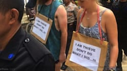 Des touristes humiliés publiquement pour avoir