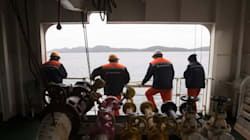 Crew Stranded Off B.C. Coast For Months Showered With Christmas