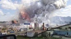 Powerful Blast Kills Dozens At Crowded Mexico City