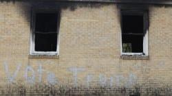 Église noire incendiée et vandalisée au Mississippi: un suspect