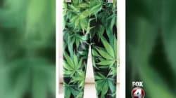 Marijuana Leggings For Toddlers Spark