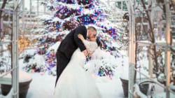 21 photos qui vous donneront le goût de vous marier durant les