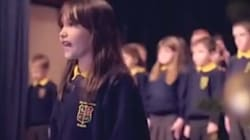 La performance de cette fillette atteinte d'autisme, sur Hallelujah, va vous faire