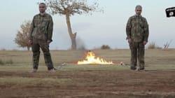 L'État islamique diffuse une vidéo montrant deux soldats brûlés