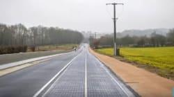La Francia inaugura la prima strada ad energia solare al