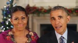 Le dernier message de Noël des Obama à la Maison-Blanche risque de vous