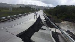 Cile, terremoto di magnitudo