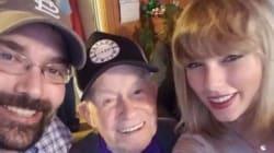 Taylor Swift a fait le plus beau des cadeaux de Noël à ce fan de 96