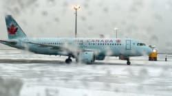 Des passagers d'Air Canada à Halifax parlent d'une nuit