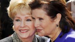 La mirada de Carrie Fisher de niña a su madre, un emotivo homenaje a