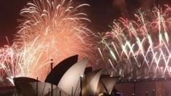 Le monde se prépare à fêter 2017 sous très haute