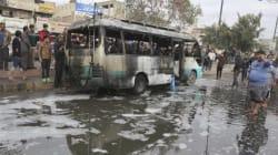 Attentato a Baghdad nel giorno della visita di Hollande: 37 morti e decine di