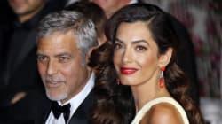 George Clooney e Amal Alamuddin aspettano due